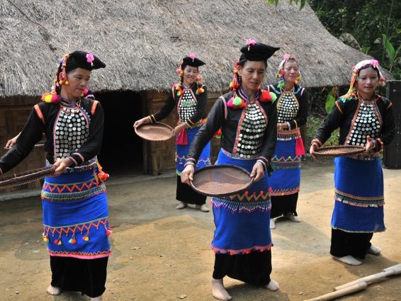 Rộn ràng lễ mừng cơm mới của đồng bào Si La (Lai Châu)