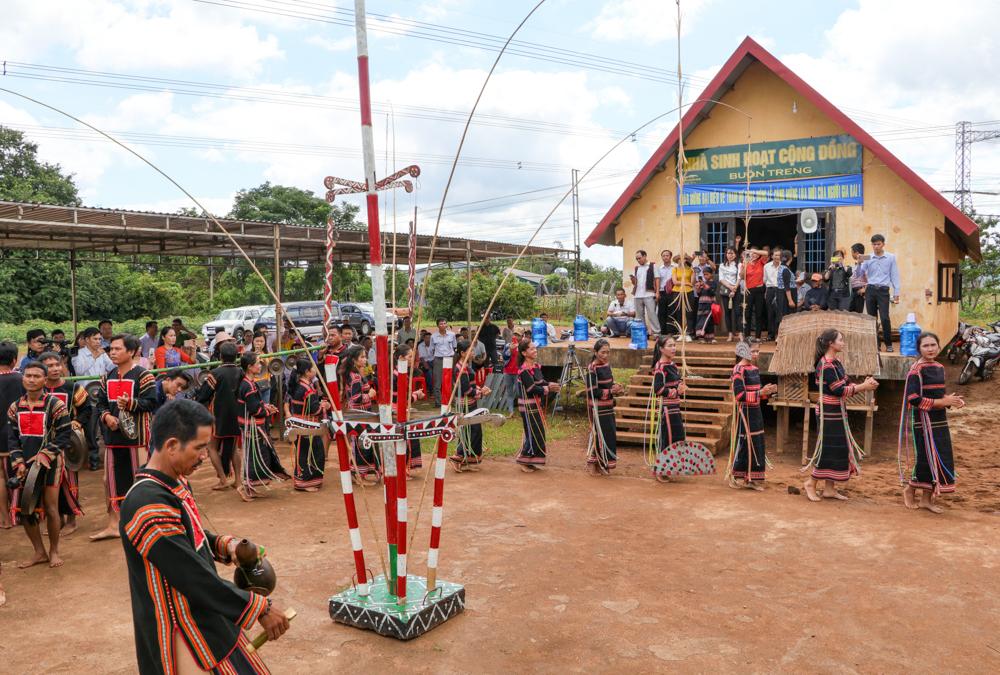 Đắk Lắk: Phục dựng lễ cúng mừng lúa của người Gia Rai