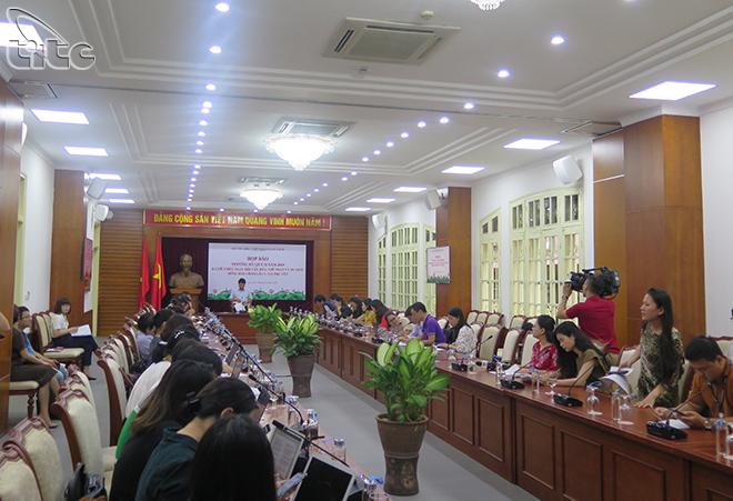 Bộ VHTTDL tổ chức Họp báo thường kỳ Quý II năm 2019