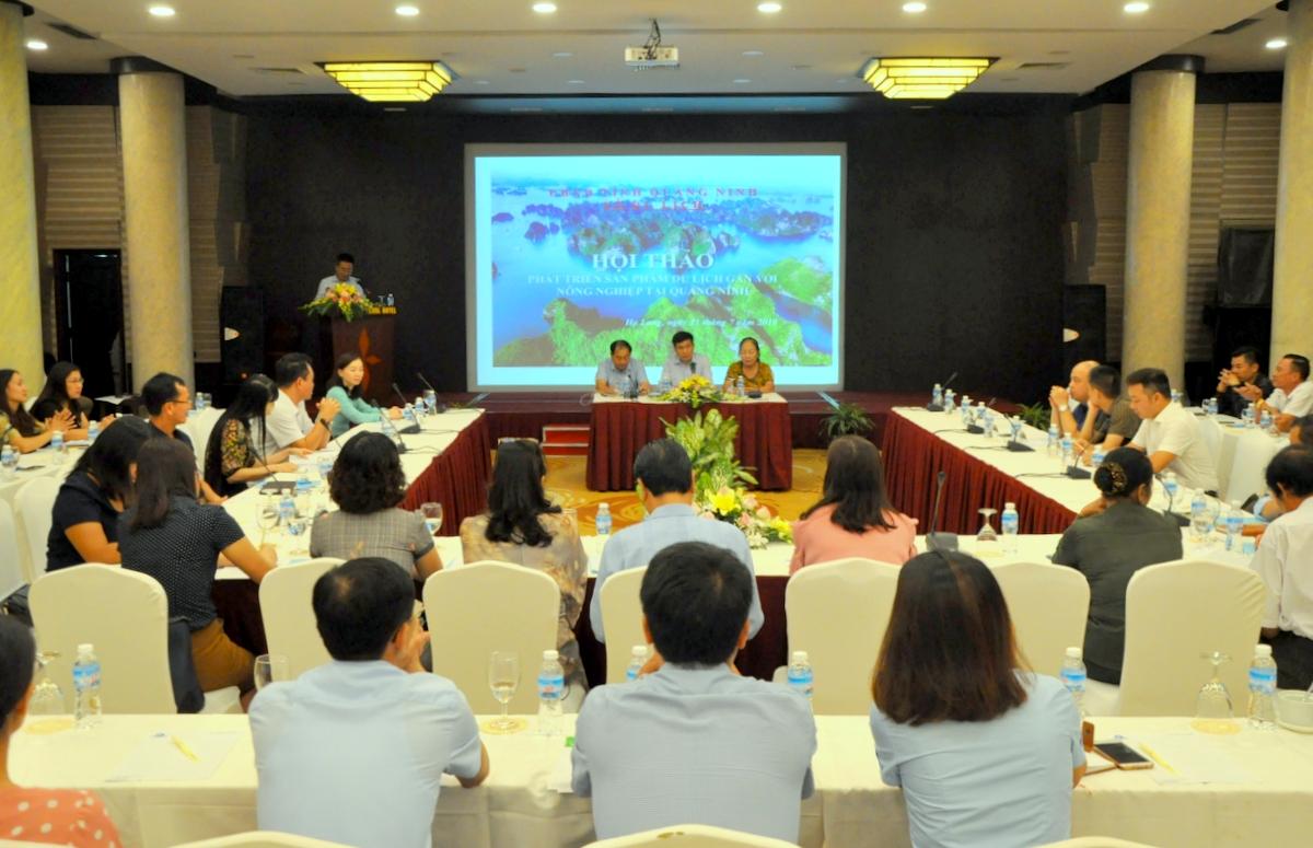 Quảng Ninh: Hội thảo phát triển sản phẩm du lịch gắn với nông nghiệp