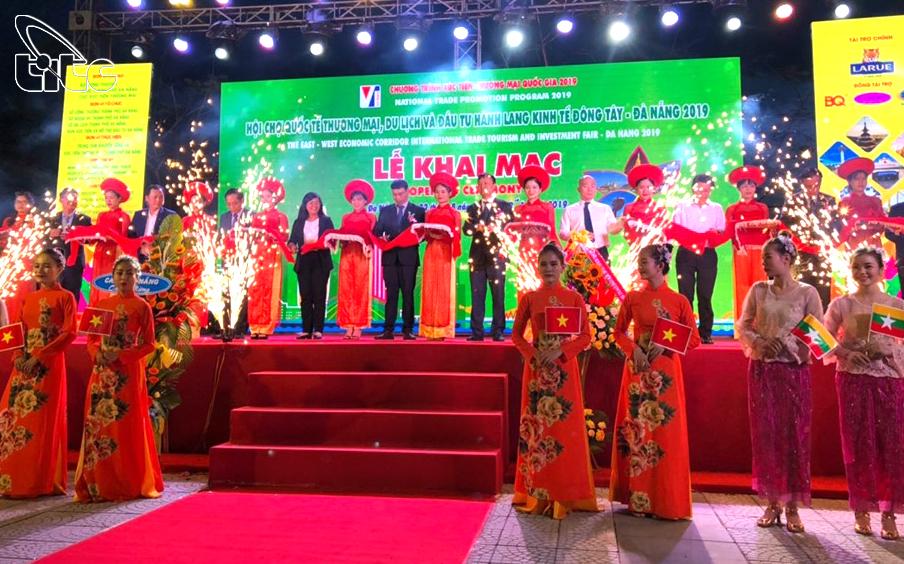 Khai mạc Hội chợ quốc tế Thương mại, Du lịch và Đầu tư hành lang kinh tế Đông Tây 2019