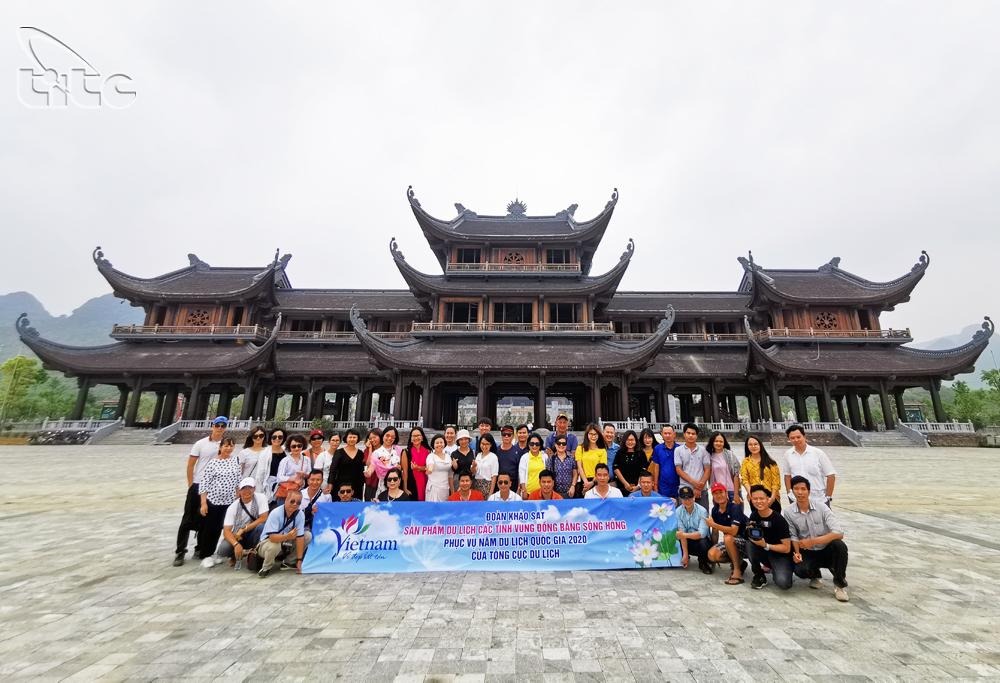 Tổng cục Du lịch tổ chức khảo sát sản phẩm du lịch một số tỉnh Đồng bằng sông Hồng