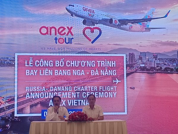 Công bố Chương trình bay Liên Bang Nga – Đà Nẵng