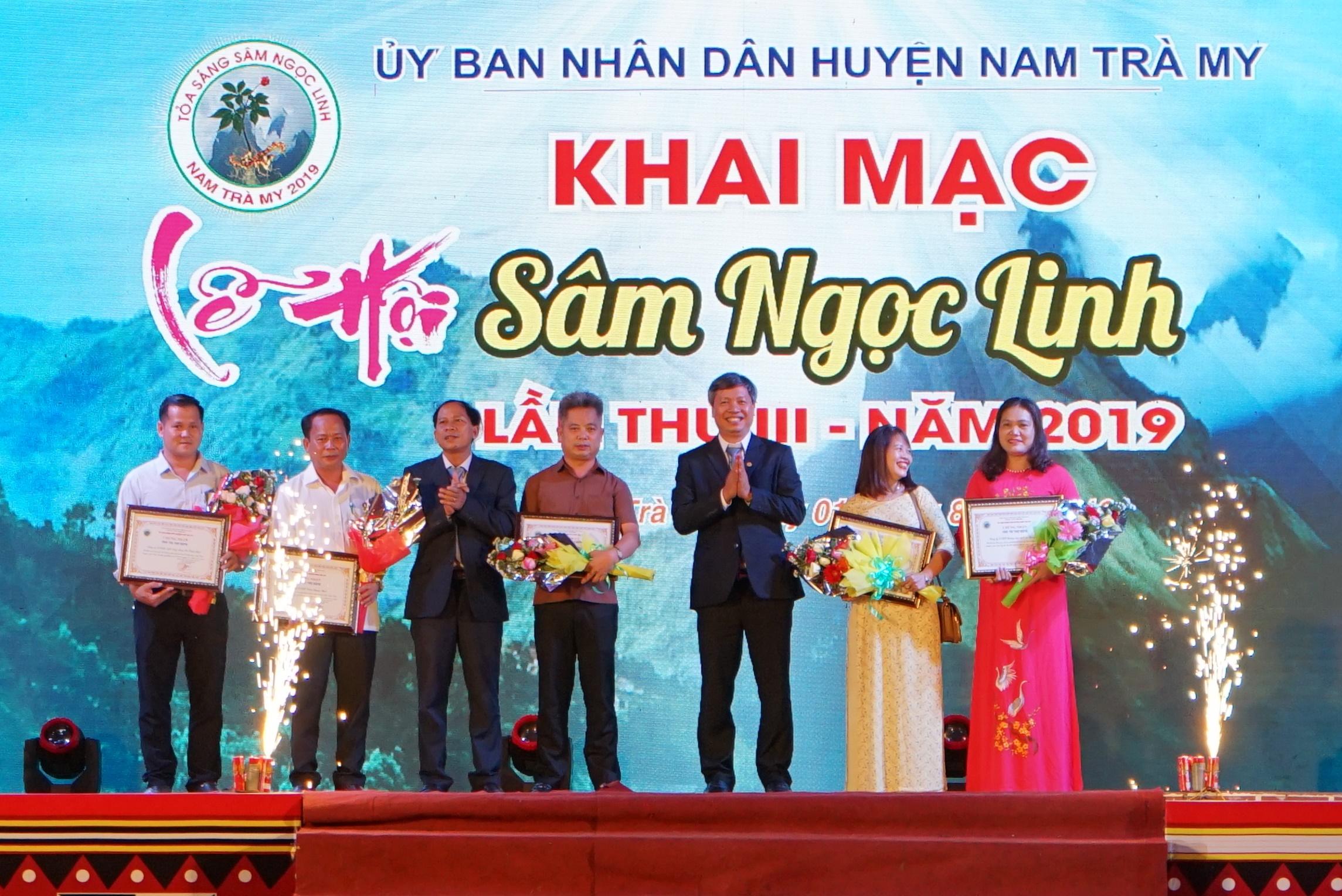 Khai mạc Lễ hội sâm Ngọc Linh lần thứ 3 - 2019