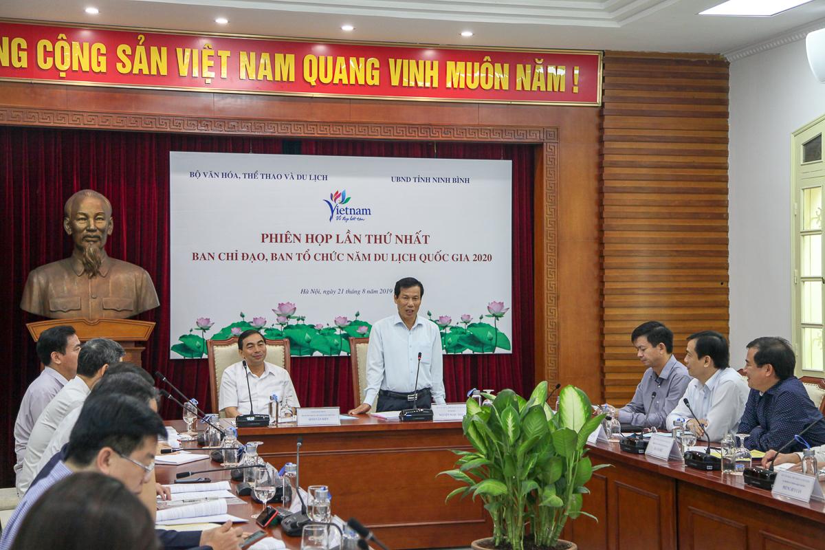 """Ninh Bình đăng cai Năm Du lịch quốc gia 2020 với chủ đề """"Hoa Lư – Cố đô ngàn năm"""""""