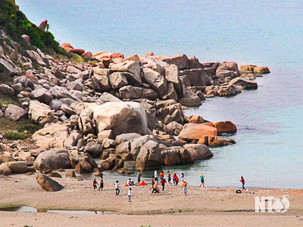 Khám phá bãi biển Bình Tiên – Ninh Thuận