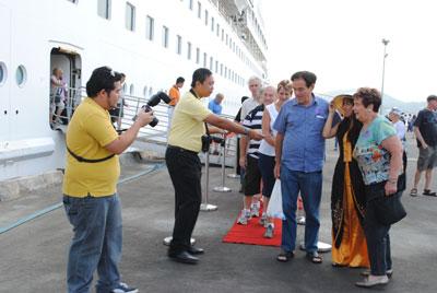 Đà Nẵng: Đón hơn 2.300 khách tàu biển