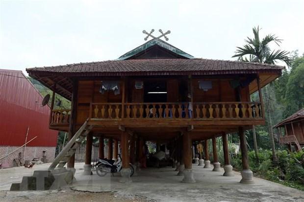 Khau cút - Biểu tượng văn hóa độc đáo trên nhà sàn của người Thái đen