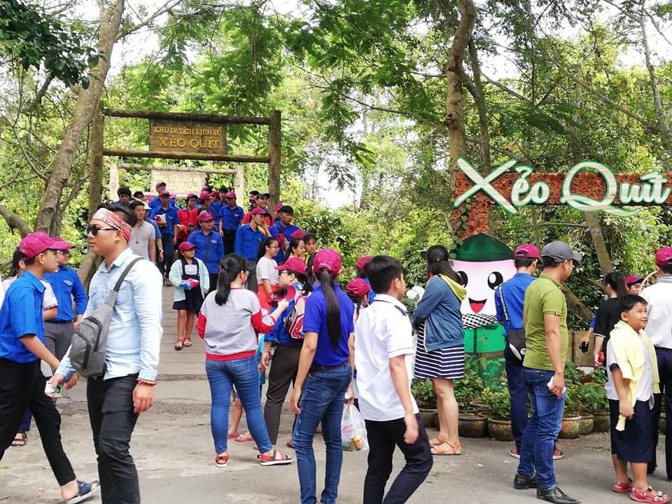 Đồng Tháp đón trên 46 nghìn lượt khách dịp nghỉ lễ Quốc khánh 2/9