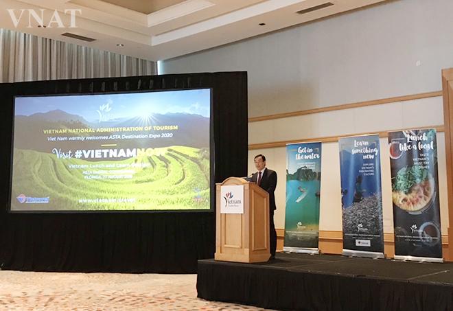 Việt Nam quyết tâm đăng cai tổ chức thành công Triển lãm Điểm đến quốc tế ASTA ADE năm 2020