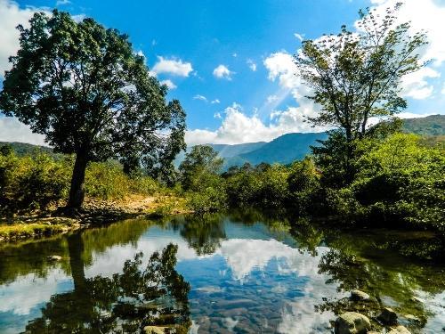 Thú vị nét đẹp hoang sơ, quyến rũ của dòng suối Lạnh ở Ninh Thuận