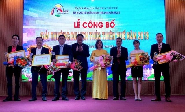 15 đơn vị, doanh nghiệp tiêu biểu nhận Giải thưởng du lịch Huế