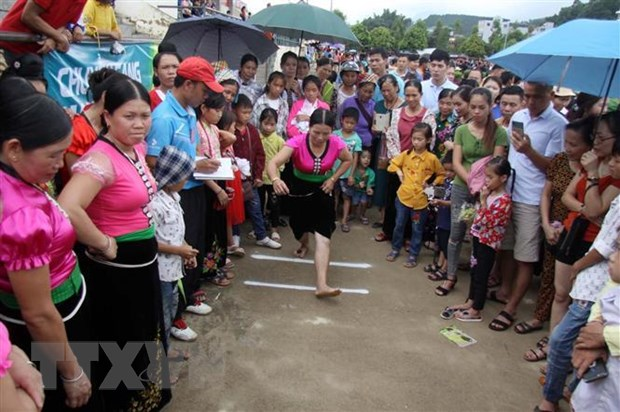 Nhân dân các dân tộc tỉnh Lai Châu nô nức vui Tết Độc lập