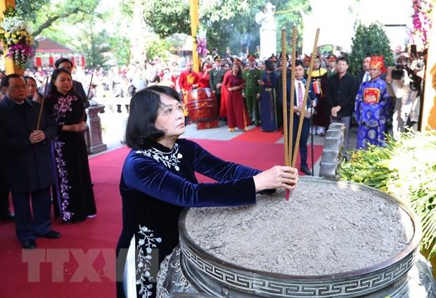 Lễ kỷ niệm 1980 năm khởi nghĩa Hai Bà Trưng tại huyện Mê Linh