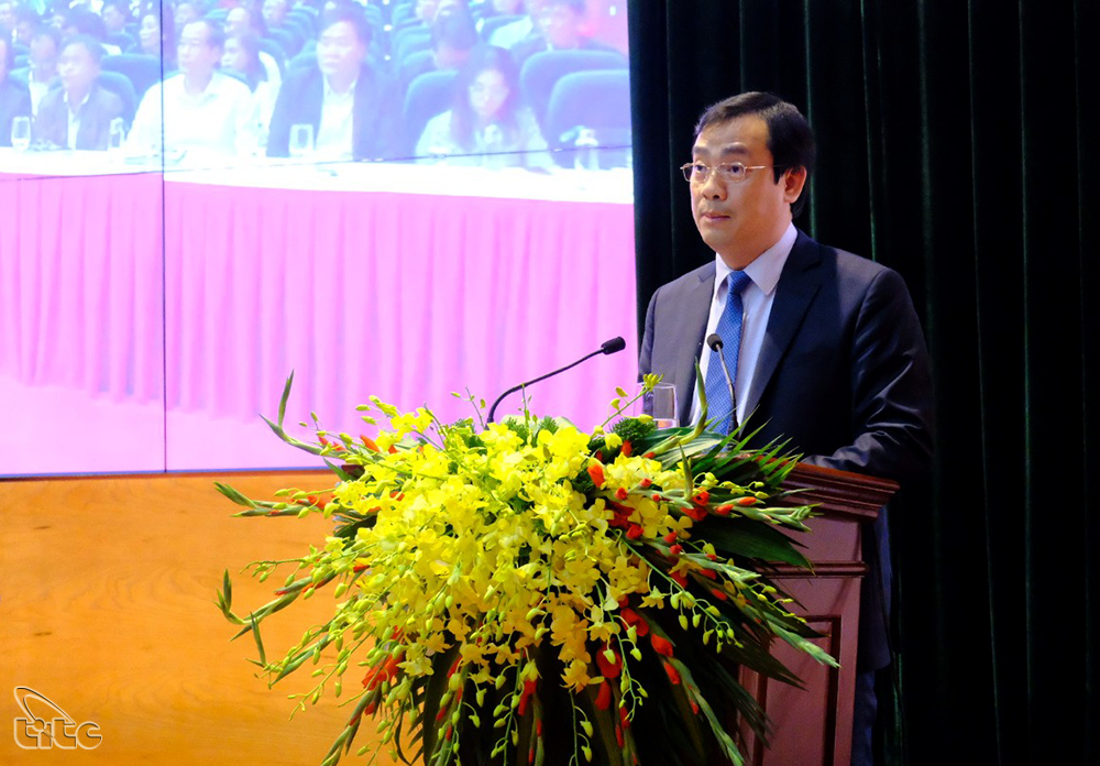Tổng cục trưởng TCDL Nguyễn Trùng Khánh nhấn mạnh vai trò phối hợp, liên kết hiệu quả các nguồn lực trong quảng bá, xúc tiến du lịch