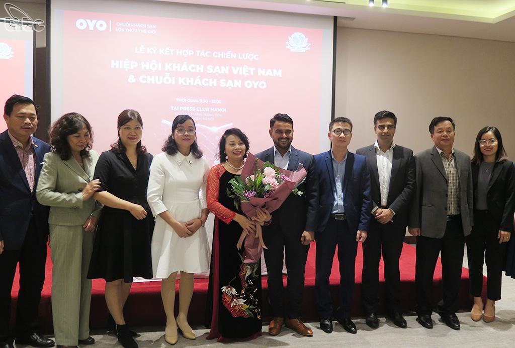 Chuỗi khách sạn OYO trở thành thành viên chiến lược của Hiệp hội Khách sạn Việt Nam