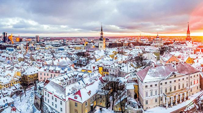 Tallinn - thành phố lãng mạn