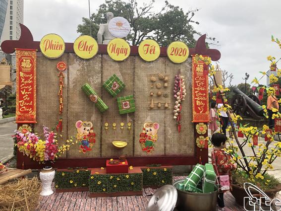 Tưng bừng Chợ Tết Canh Tý tại Bảo tàng Đà Nẵng