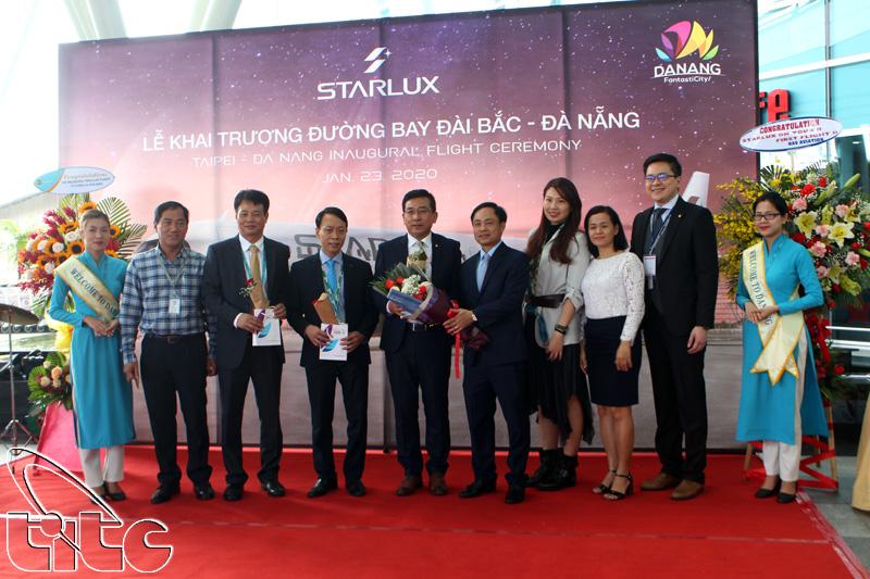 Khai trương đường bay Đài Bắc – Đà Nẵng nhân dịp năm mới Canh Tý 2020