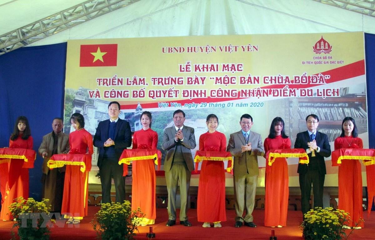 Bắc Ninh: Triển lãm, trưng bày Bảo vật quốc gia Mộc bản chùa Bổ Đà