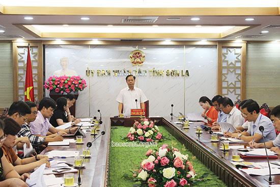 """Chuẩn bị tổ chức sự kiện du lịch """"Sắc màu Sơn La - Tây Bắc"""" tại TP Hà Nội"""