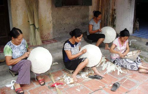 Làng nón lá Môn Quảng (Bắc Ninh)