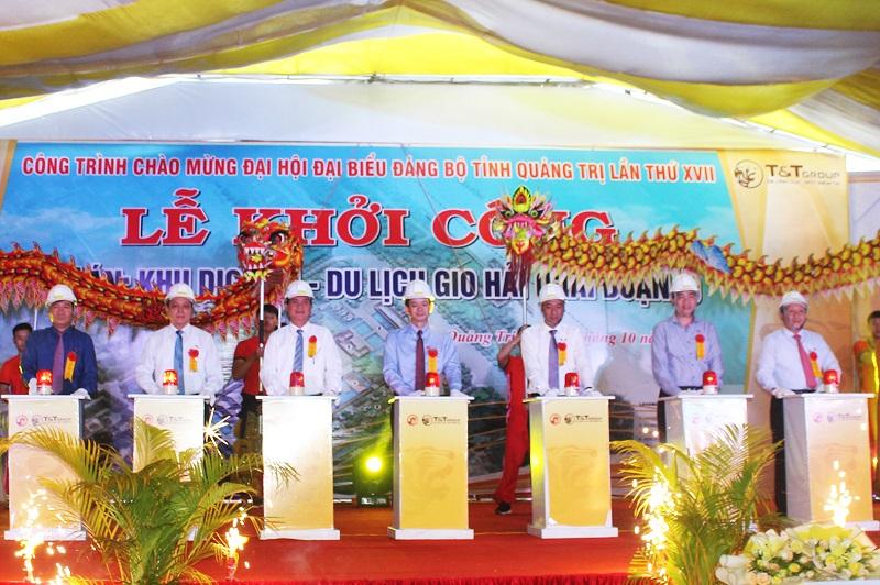 Khởi công Khu Dịch vụ - du lịch Gio Hải, Quảng Trị