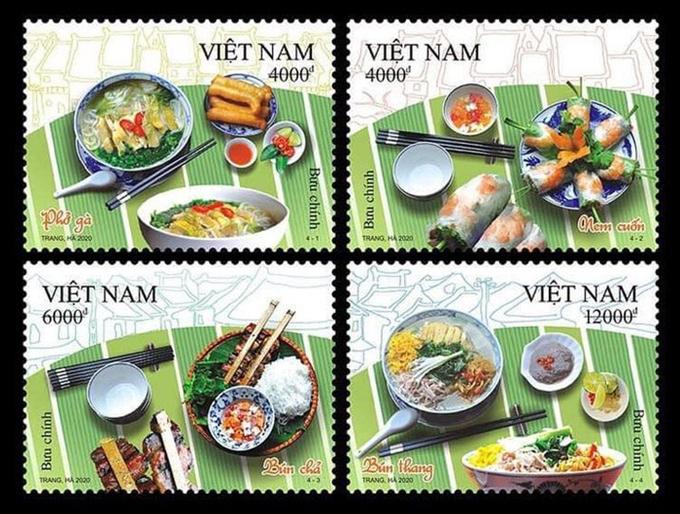 Phát hành bộ tem