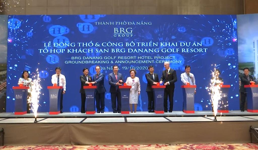 Công bố triển khai dự án tổ hợp khách sạn BRG Danang Golf Resort