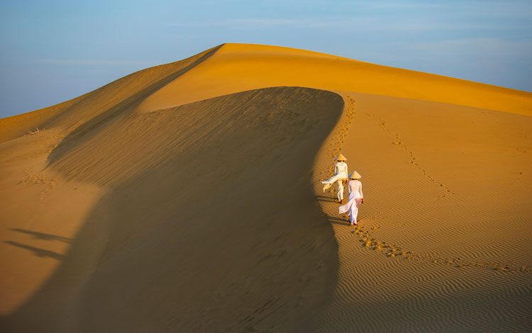 Khám phá Đồi cát Nam Cương, Ninh Thuận