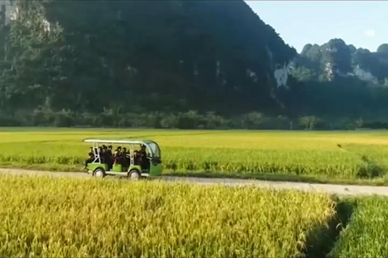 Tuyên Quang: Thượng Lâm có xe điện phục vụ du khách