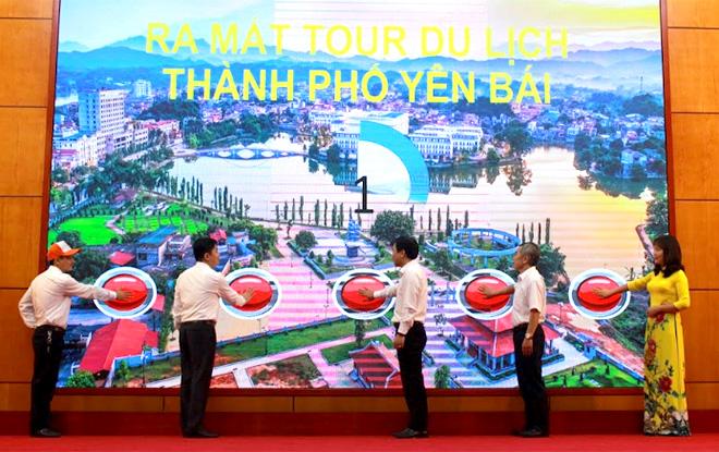 Thành phố Yên Bái trao đổi kinh nghiệm kết nối phát triển du lịch với các địa phương