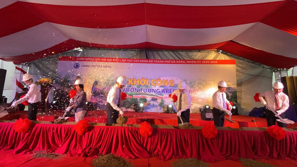 Khởi công công trình Vườn tượng APEC mở rộng