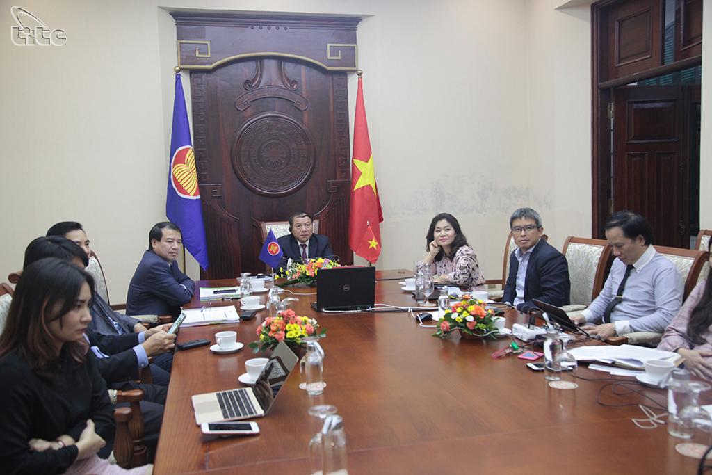 Thứ trưởng Nguyễn Văn Hùng tham dự Hội nghị trực tuyến Bộ trưởng Du lịch G20 năm 2020