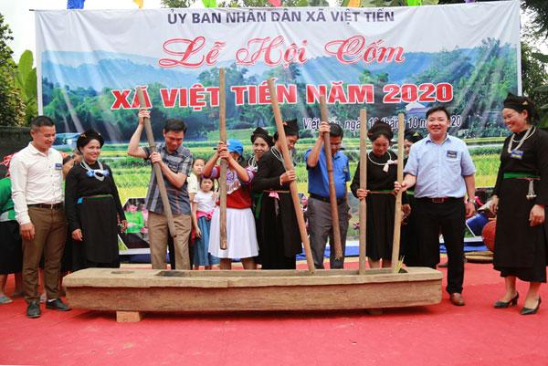 Đặc sắc lễ hội cốm Việt Tiến (Lào Cai)