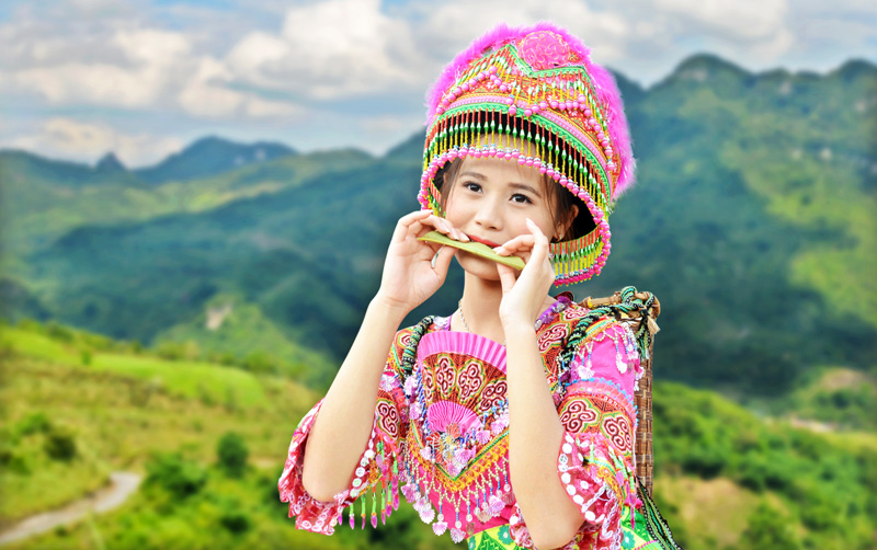 Kèn lá của người Mông