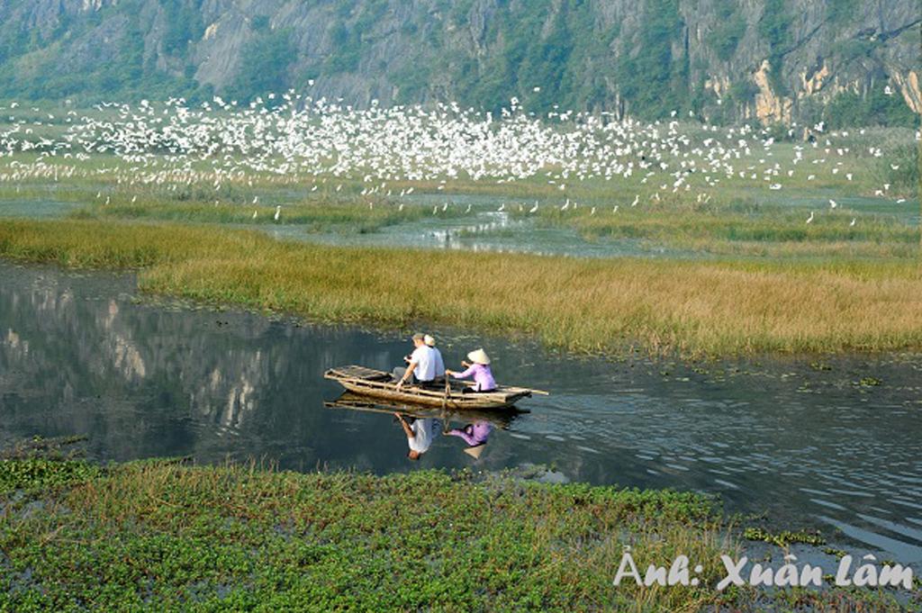 Khu bảo tồn thiên nhiên đất ngập nước Vân Long nhận chứng chỉ Danh lục Xanh