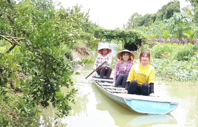 Lai Vung(Đồng Tháp): Phát triển kinh tế vườn kết hợp du lịch nâng cao thu nhập người dân