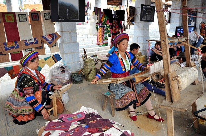 Đặc sản thổ cẩm với ngành du lịch Hà Giang