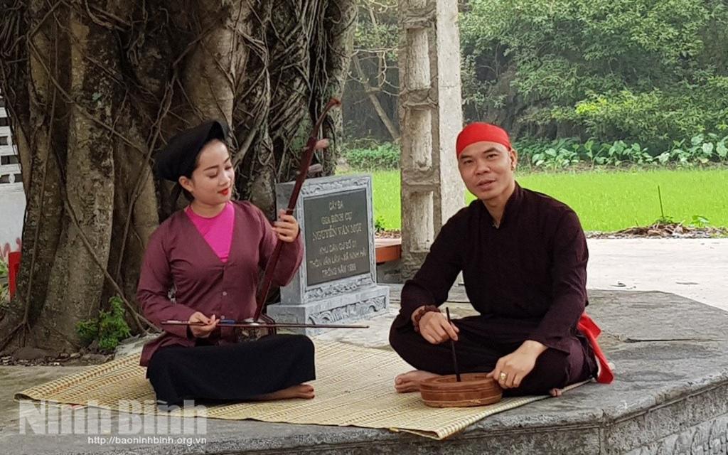 Yên Mô (Ninh Bình) lưu giữ và phát huy giá trị hát Xẩm