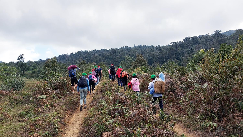 Lào Cai: Tổ chức Giải leo núi chinh phục đỉnh Lảo Thẩn lần thứ 4