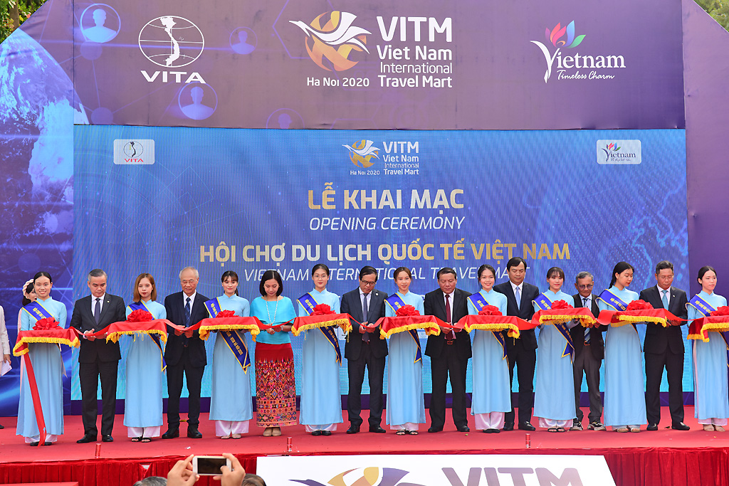 """Khai mạc Hội chợ Du lịch quốc tế VITM 2020 với chủ đề """"Chuyển đổi số để phát triển du lịch"""""""