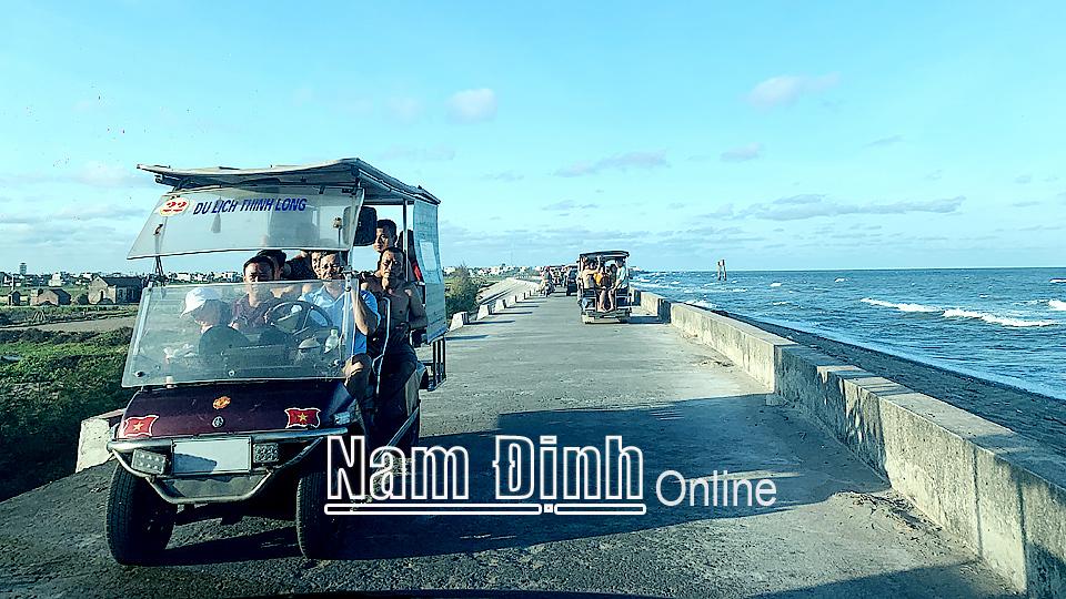Nam Định: Phát triển kinh tế du lịch biển