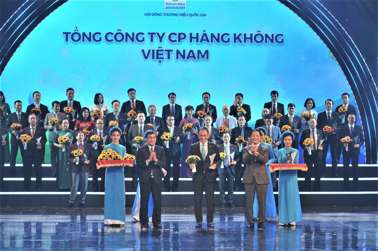 Vietnam Airlines đạt Thương hiệu quốc gia năm 2020