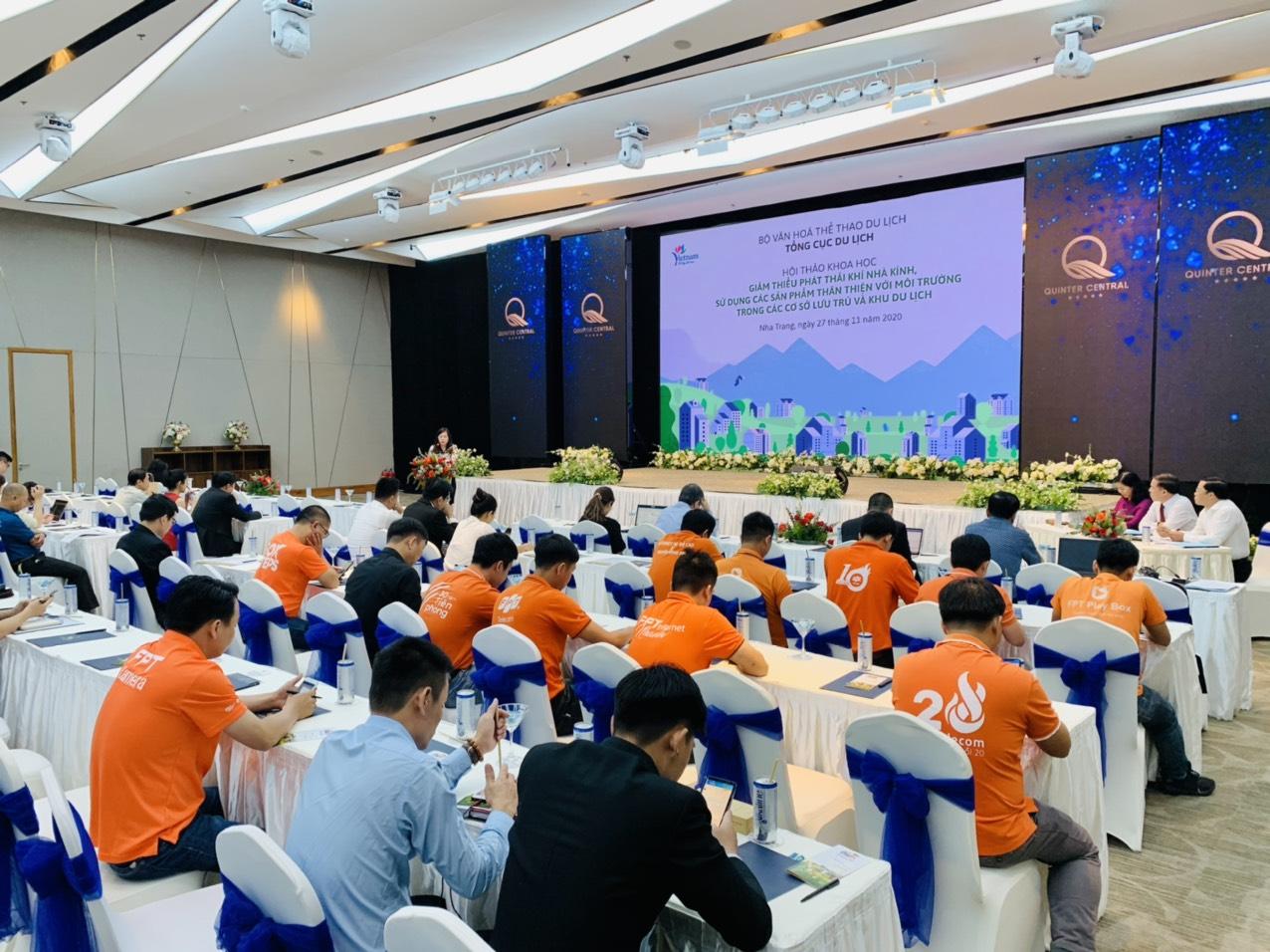 Hội thảo tìm giải pháp thân thiện với môi trường trong hoạt động du lịch
