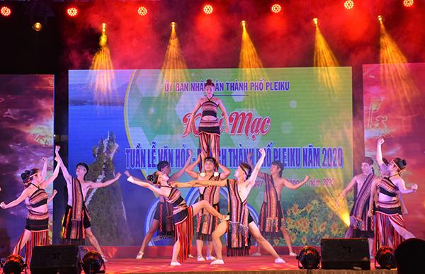 Khai mạc Tuần lễ Văn hóa - Du lịch thành phố Pleiku năm 2020