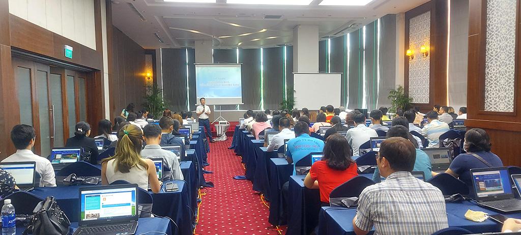 Tổng cục Du lịch tiếp tục tổ chức tập huấn về phần mềm quản lý lữ hành trực tuyến tại TP.HCM