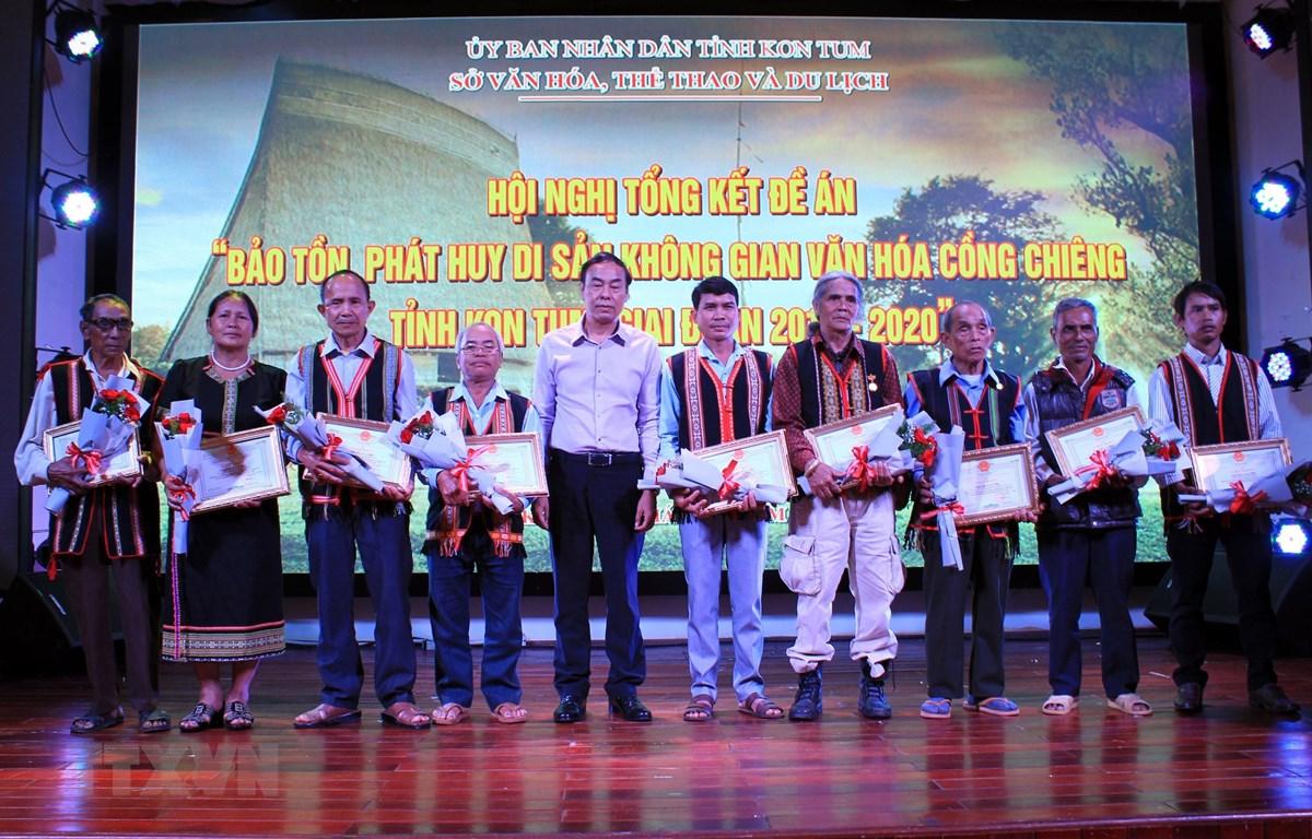Kon Tum bảo tồn và phát huy di sản không gian văn hóa cồng chiêng