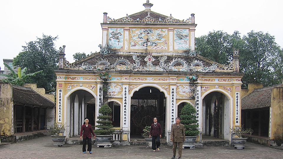 Di tích và lễ hội đình Xám- Nam Định