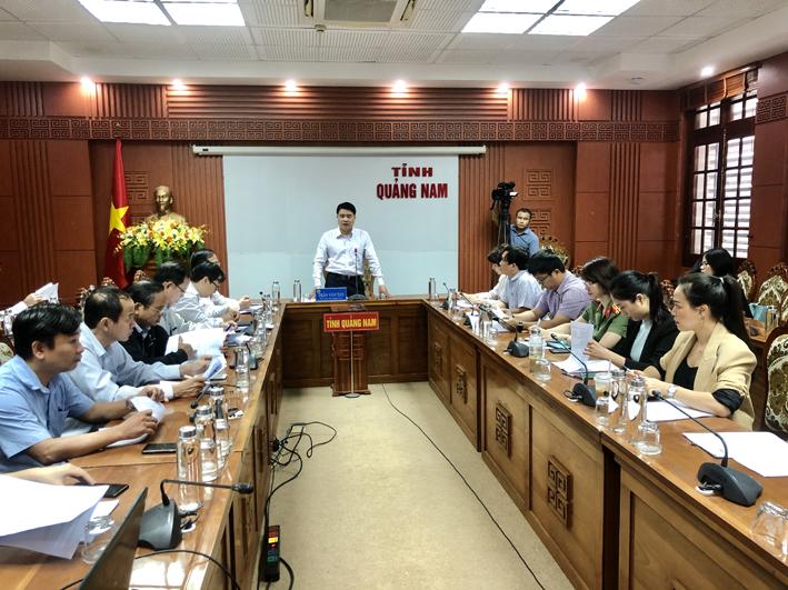 Quảng Nam: Chuẩn bị tốt công tác tổ chức Hội nghị toàn quốc về du lịch và Diễn đàn liên kết phát triển du lịch